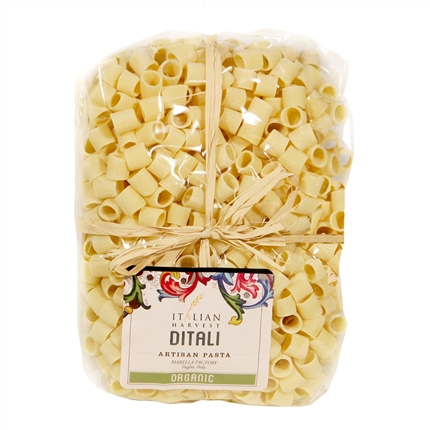 Package of Ditali (short cylinders) Pasta