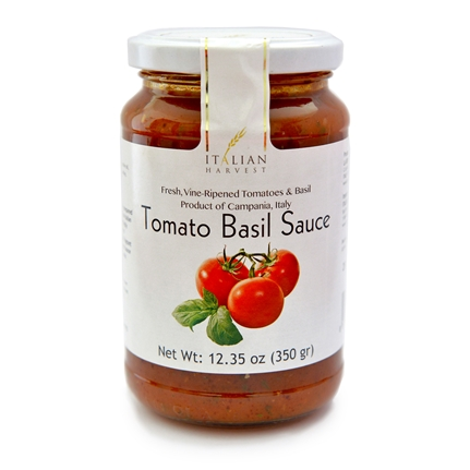 Jar of Tomato Basil Sauce