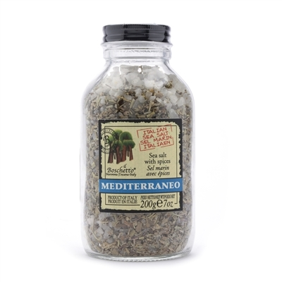 Jar of Mediterraneo Spiced Sea Salt