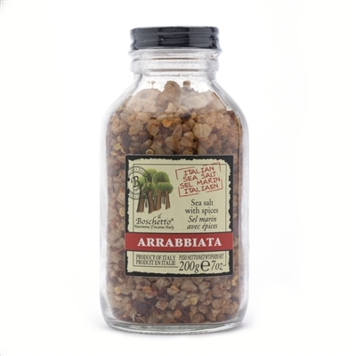 Jar of Arrabbiata Spiced Sea Salt