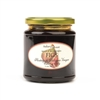 Jar of Whole Figs Floating in Balsamic Vinegar