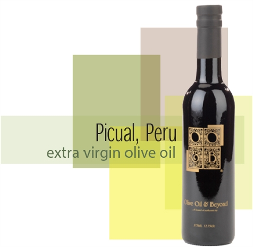 Bottle of Picual Extra Virgin Olive Oil, Peru