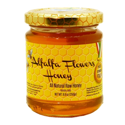 This exquisite raw honey comes from the Veneto mountains of northern Italy , the region of Italy where Padova is located. Italy