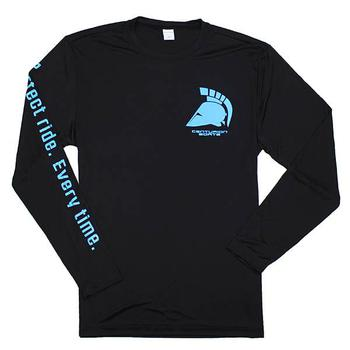 Centurion Competitor L/S Performance Tee - Black
