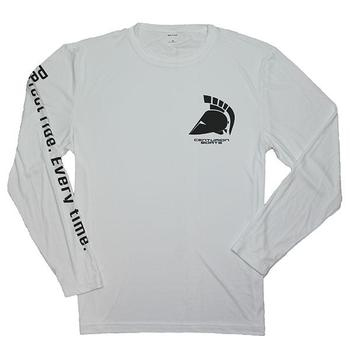 Centurion Competitor L/S Performance Tee - White