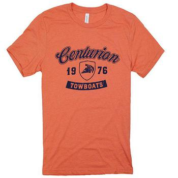 Centurion Towboats Tee - Heather Orange