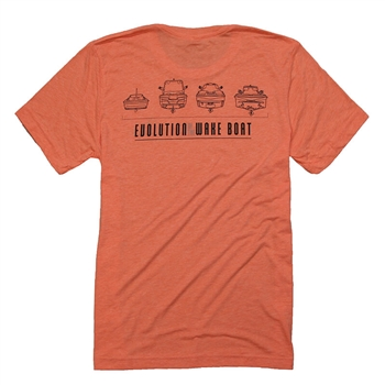 Centurion Evolution Tee - Orange Heather