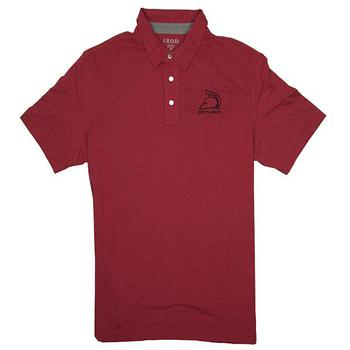 Centurion Izod Heathered Sport Polo - Red