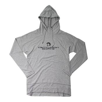 Centurion Ladies French Terry Hoodie - Light Heather Grey