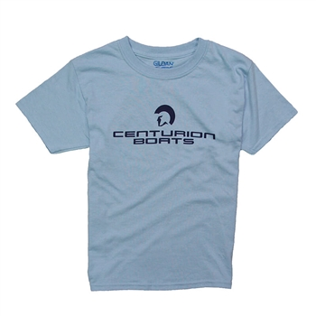 Centurion Youth Standard Tee - Light Blue