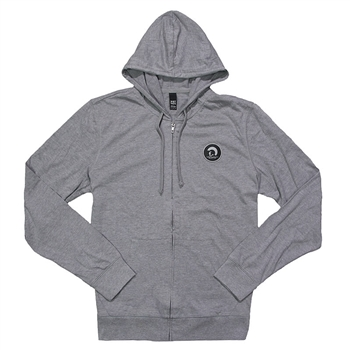 Centurion Trademark Full-Zip Hoodie - Heather Grey