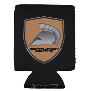 Centurion Shield Can Koozie - Black