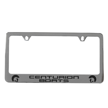License Plate Frame - Chrome