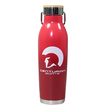Centurion 20.9oz Wave Bottle - Equator Red