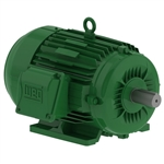 Weg 00718ET3E213T 7.5 HP Motor, 1800 RPM, TEFC, 3 Phase, 208-230/460 Volt 213T Footed