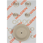 Wilden 02-9805-58 Wet Kit, 1'' Original Clamped, All Plastics, Wil-Flex (1'' O/P/WFS)