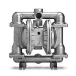 "Wilden XPS420/SSAAA/TWS/TF/STF/0677 AODD Pump, 1.5"" Pro-Flo Shift, Bolted Stainless Steel, NPT w/PTFE (04-12960)"