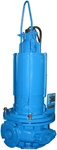 Wemco 6X3-CFS2 Submersible Chopper Pump, 5 HP, 1750 RPM, 460V, 3 PH