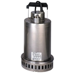 Ebara #EPD-5MT4 Submersible Sump Pump, 1/2 hp, 460v, 3 ph, Pro Drainer