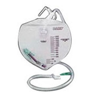 Bard 154002 Drainage Bag with Anti-Reflux Chamber, 2000ml, One