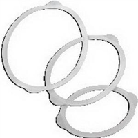 Coloplast 14041 Maxi Fistula Flexible Lid without Filter, Box of 10