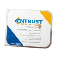 Fortis 6200F Entrust Crescent Barrier Extensions with Fortaguard, Box of 30