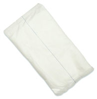 "Covidien (formerly Kendall) 6198D Curity Abdominal Pads - 8"" x 10"", Non-sterile, Package of 18"