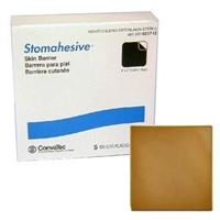 "Convatec 021712 21712 Stomahesive Wafer - 4"" x 4"", Non-Sterile, Box of 5"