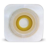 "Convatec 411657 Esteem synergy Flat Moldable Skin Barrier with Landing Zone Flange and Flexible Tape Collar - (1/2)"" - (7/8)"" Stoma Size, Box of 10"