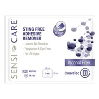 ConvaTec 413500 Sensi-Care Sting-Free Adhesive Remover Wipes, Box of 30 wipes