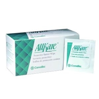 Convatec 037444 37444 AllKare Protective Barrier Wipes, Box of 100 wipes