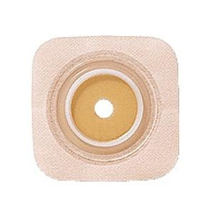 "Convatec 125264 SUR-FIT Natura Stomahesive Flexible Cut-to-fit Wafer with Tan Tape Collar - Flange 1(3/4)"" 45 mm., Box of 10"