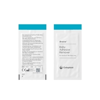 Coloplast 12014 Brava Baby Adhesive Remover Wipes, Box of 30 wipes