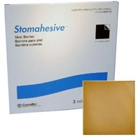 "Convatec 021715 21715 Stomahesive Wafer - 8"" x 8"", Non-Sterile, Box of 3"