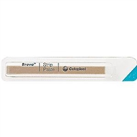 Coloplast 26555 Brava Ostomy Strip Paste - 0.2 oz. per strip, Box of 10 strips