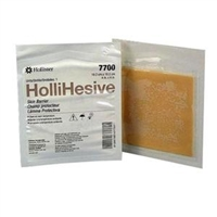 "Hollister 7700 SoftFlex Hollihesive Skin Barrier - 4"" x 4"", NonSterile, Box of 5"