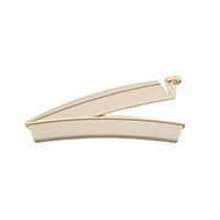 Hollister 8770 Drainable Pouch Clamp - Beige, Box of 20