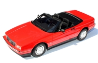1987-1992 Cadillac Allante Red 1:24
