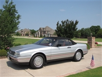 1987-1992 Cadillac Allante Silver 1:24