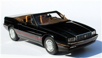 1987-1992 Cadillac Allante 1:24 ONE24 Homage Edition Black