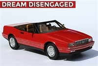 1987-1992 Cadillac Allante Special Order Red with tan interior 1:24