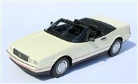 1987-1992 Cadillac Allante Special Order White with black interior 1:24