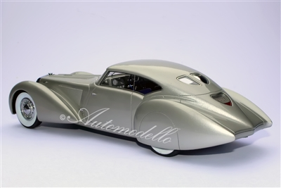 1937 Delage D8-120 S Aerodynamic Coupe by Pourtout 1:24 Pebble Beach 2005 Winner