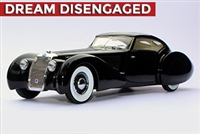 1937 Delage D8-120 S Aerodynamic Coupe by Pourtout Homage Edition 1:24