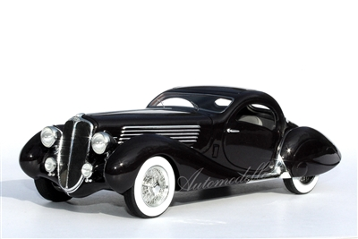 1937 Delahaye 135ms by Figoni et Falaschi 1:24 Aubergine