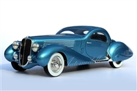 1937 Delahaye 135ms by Figoni et Falaschi 1:24 Tribute Edition Bleu Clair Métallisé