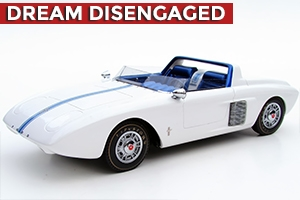 1962 Ford Mustang I Concept Tribute Edition White 1:24