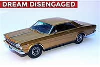 1966 Ford Galaxie 500 7-Litre Hardtop Enthusiasts Edition in Antique Gold 1:24