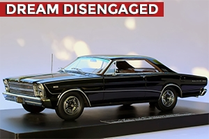 1966 Ford Galaxie 500 7-Litre Hardtop Homage Edition Raven Black 1:24