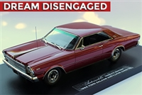 1966 Ford Galaxie 500 7-Litre Hardtop Tribute Edition in Dark Red 1:24